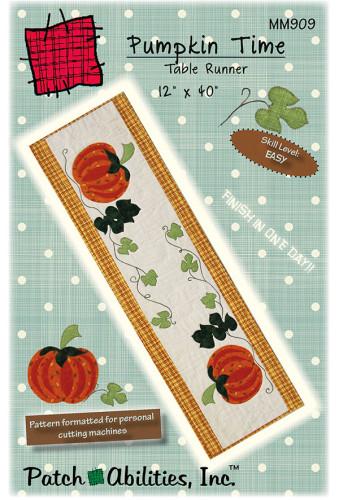 Pumpkin Time Table Runner MM909