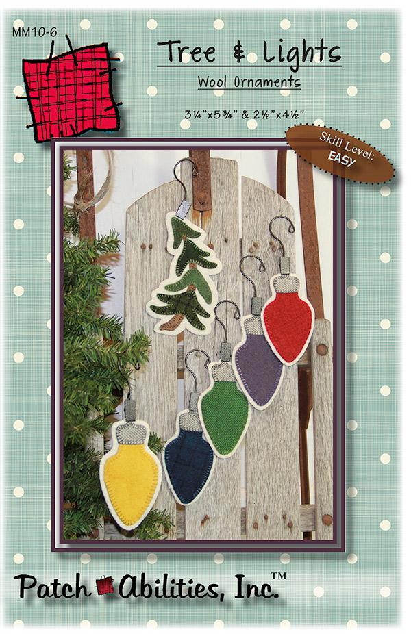 Tree & Lights Ornaments