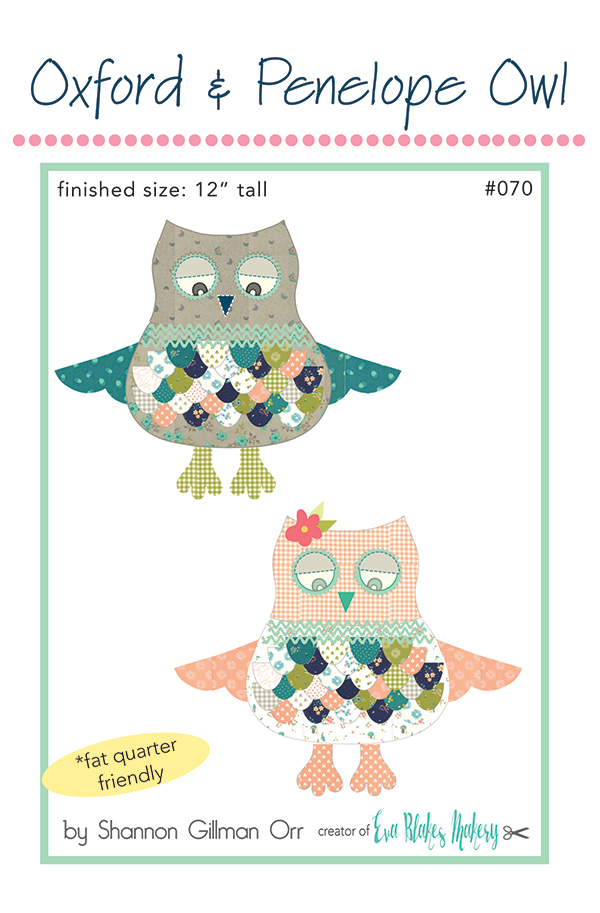 *Oxford & Penelope Owl