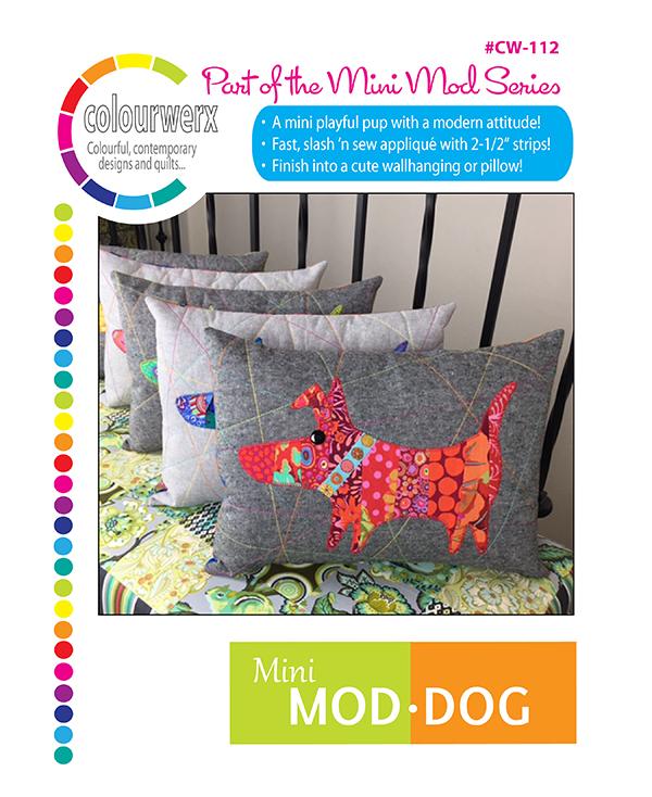 PT Q Colourwerx Mini Mod Dog