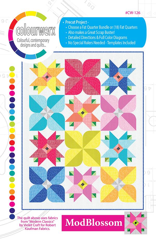 Mod Blossom pattern