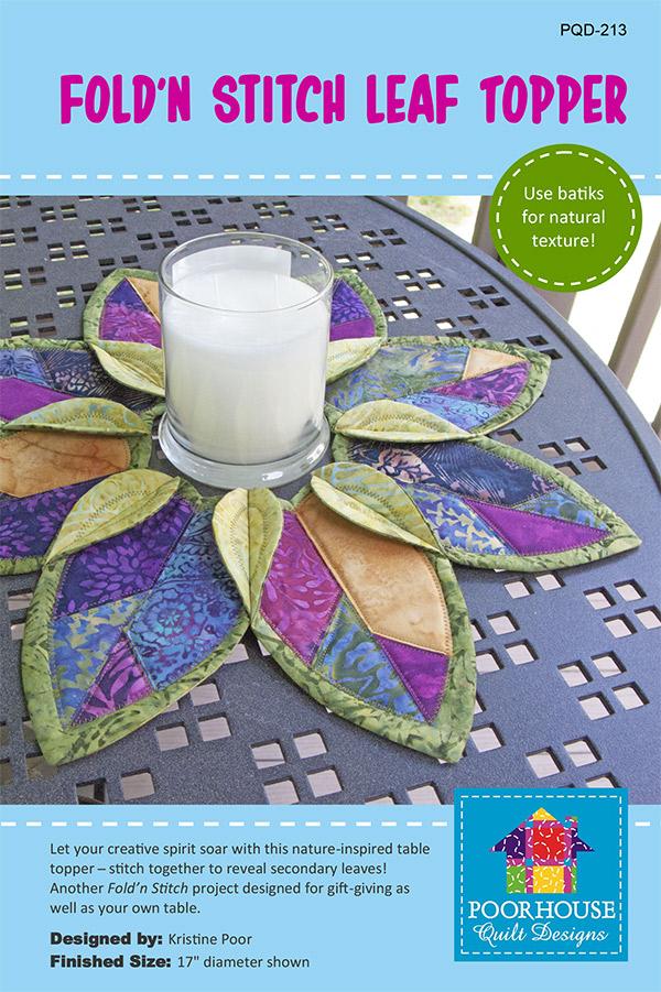 Fold'N Stitch Leaf Topper