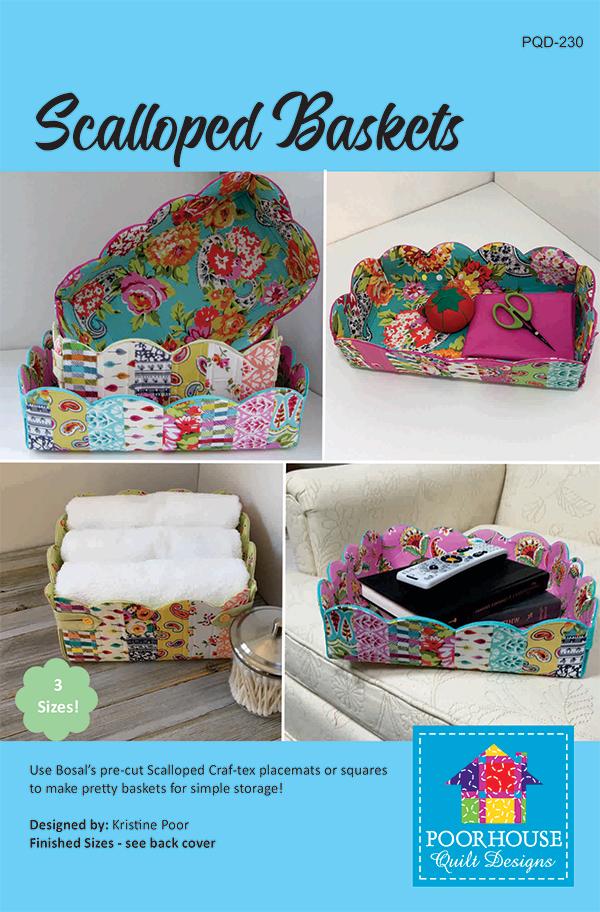 Scalloped Baskets