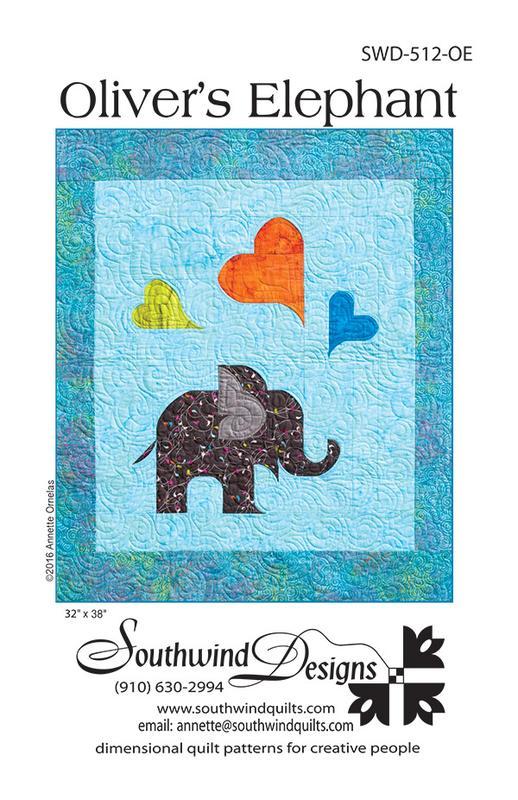 SWD 512OE Olivers Elephant Pattern