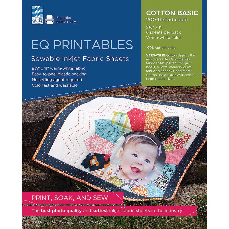 Sewable Inkjet Cotton Fabric Sheets