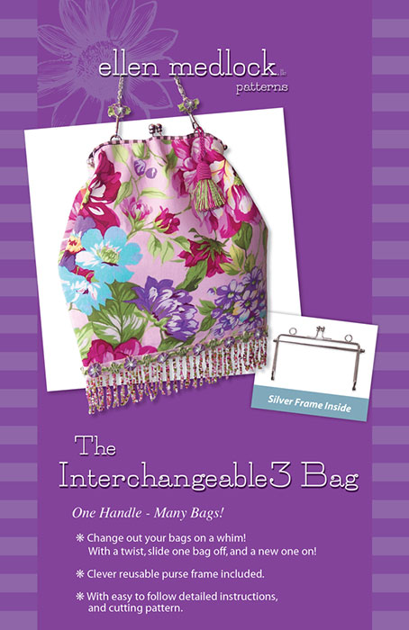 The Interchangeable3 Bag Silver Set