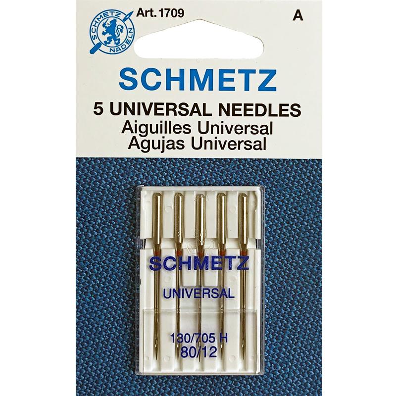 Schmetz Universal Needles - Size 80/12 5 pcs