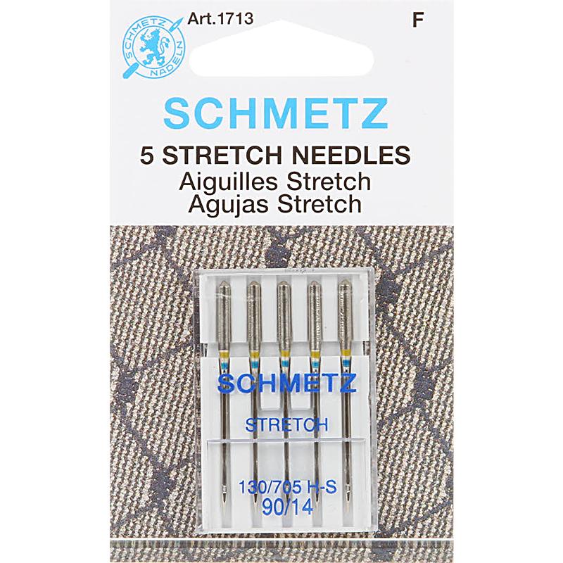 Schmetz Sewing Machine Needle Stretch 14/90 5 per pack
