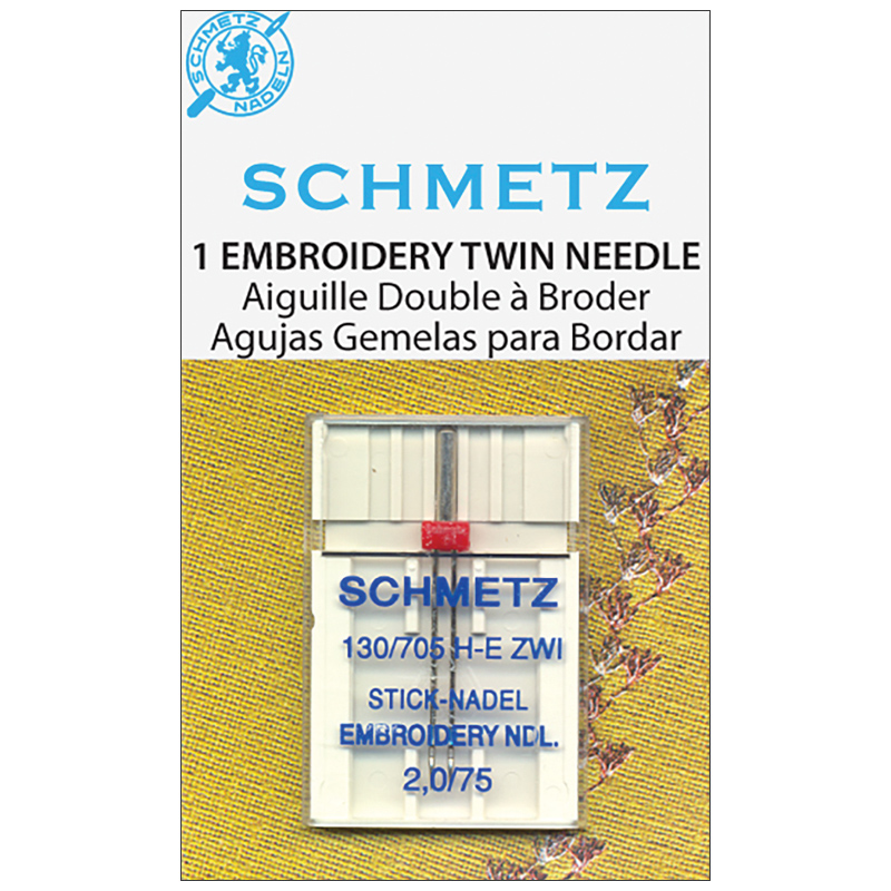 Schmetz: Embroidery Twin 20/75