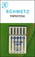 Topstitch Machine Needle 14/90