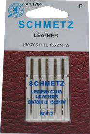 Schmetz Leather Machine Needles 80/12