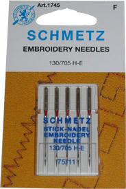 Schmetz Embroidery75/11
