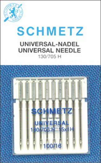 Schmetz- Universal Machine Needle 100/16