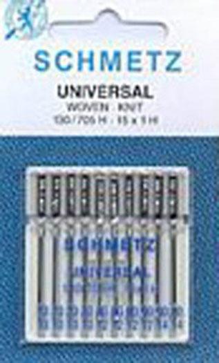 Schmetz Universal Machine Needles - Assorted Sizes