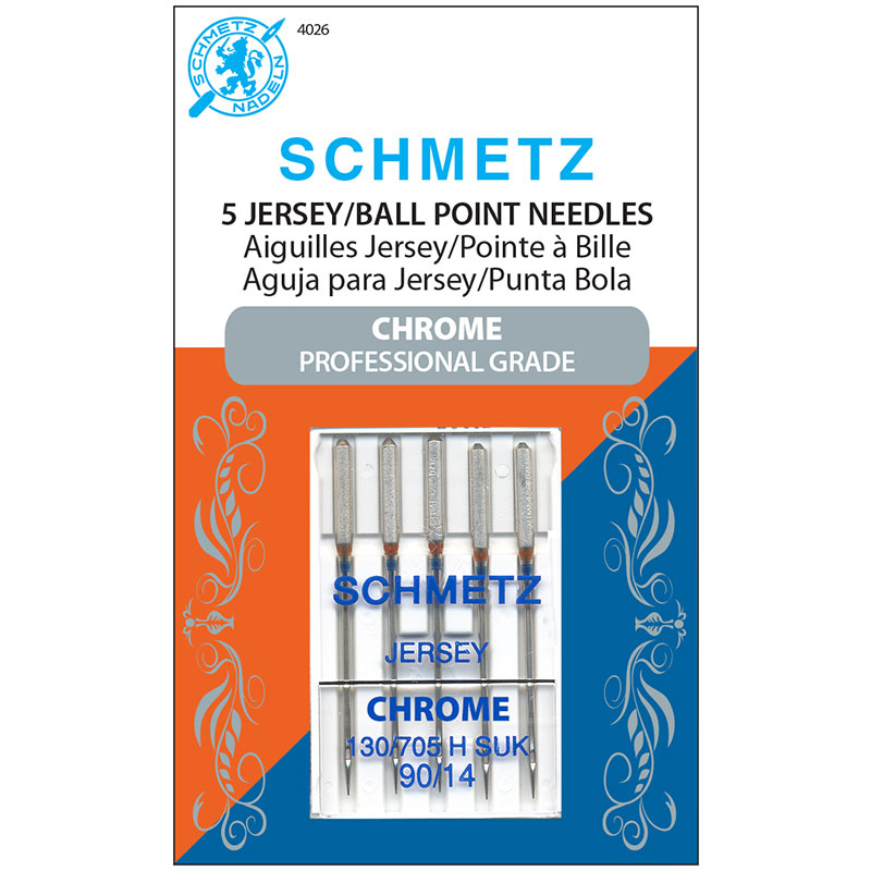 Schmetz Chrome 90/14 Jersey Needle