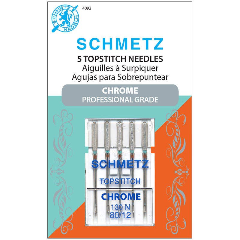Schmetz Chrome Topstitch Needle 80/12