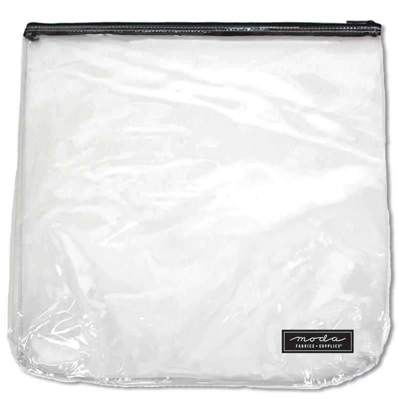 Clear Bag w/ Zipper 17 x 17