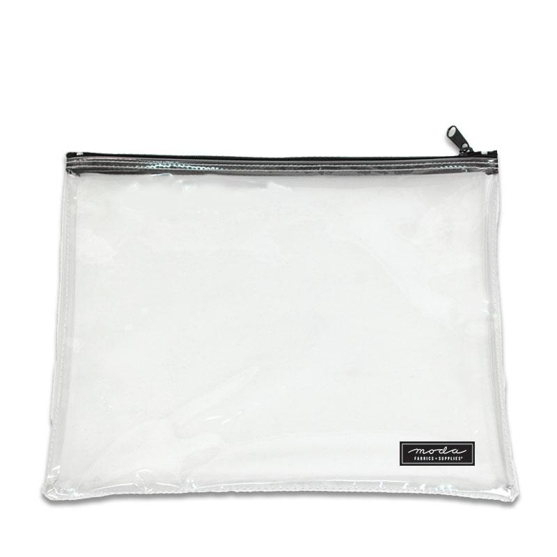 Clear Bag w/ Zipper 13 x 10 - Elan - PB13