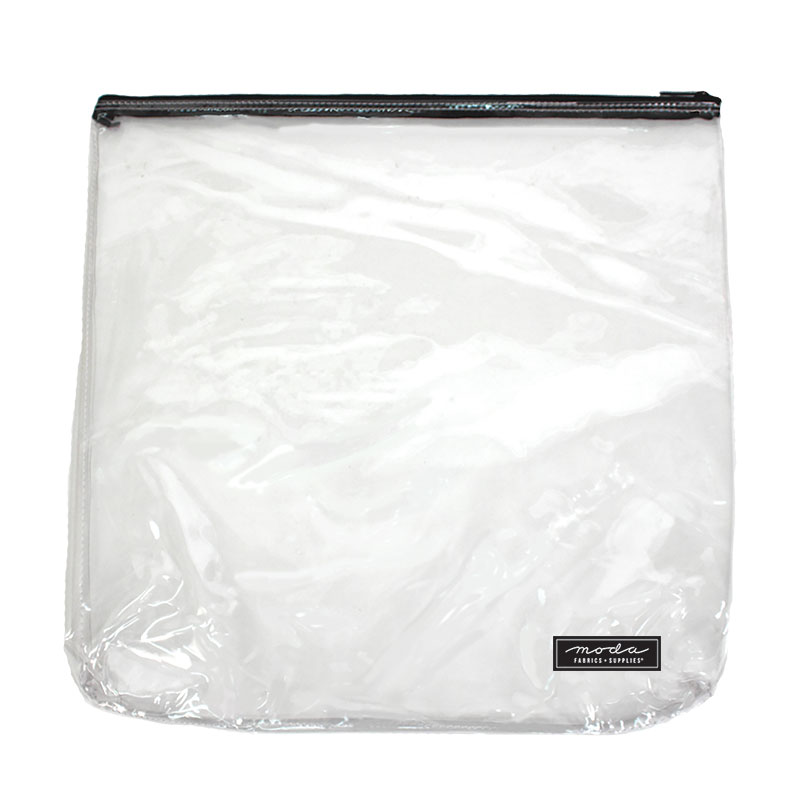 Clear Bag w/ Zipper 14 x 14
