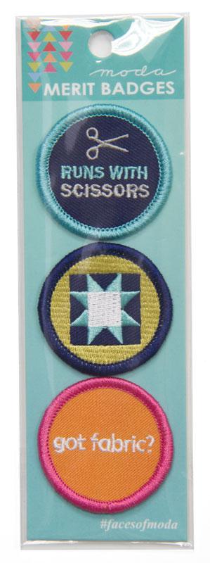 Moda Merit Badges #1