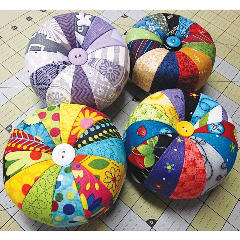 Color Wheel Pin Cushion Kit/Ptn