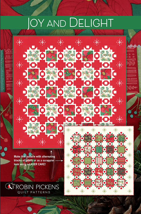 Joy and Delight Quilt Pattern