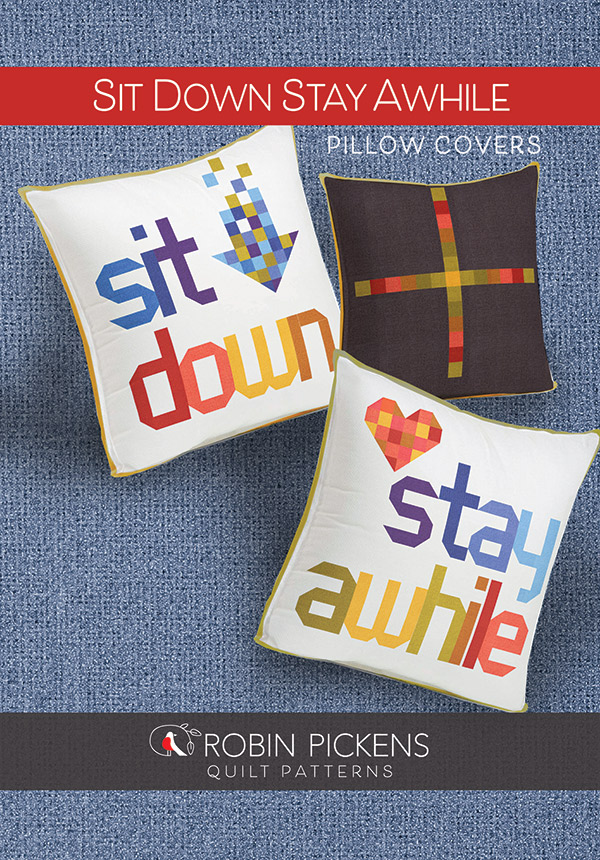 Sit Down And Stay Awhile Pillow