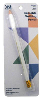 EZ Quilting Clean Erase Quilting Pencil White