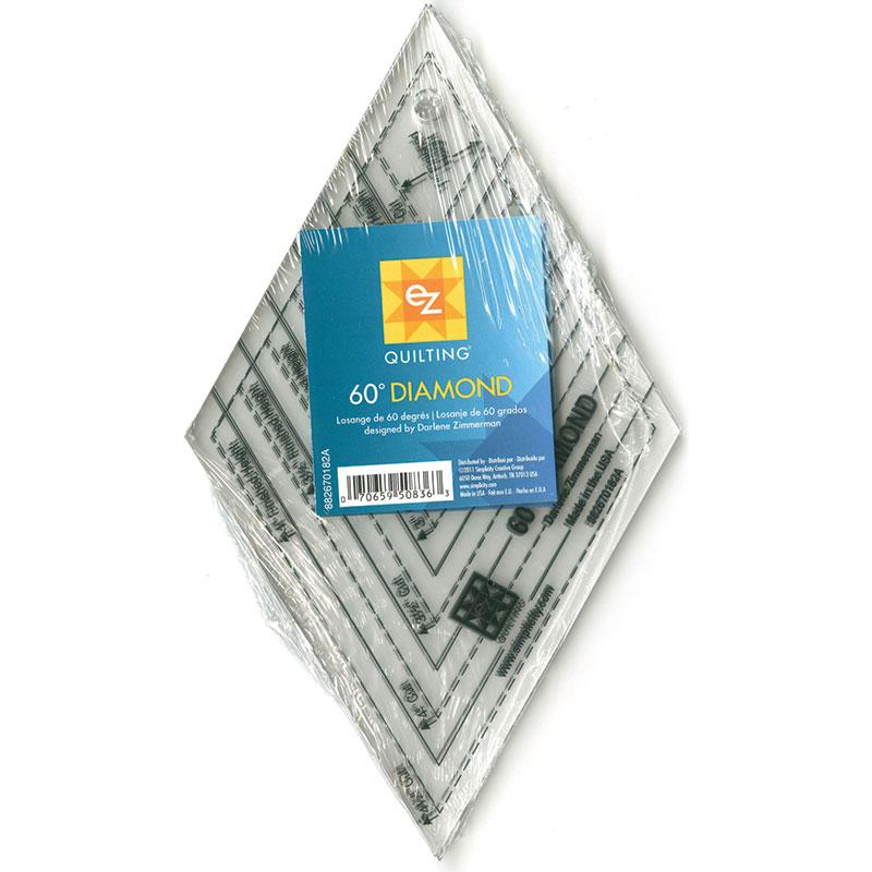 60 Degree Diamond Ruler - EZ Quilting