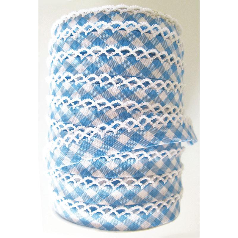 Crochet Edge DF Bias Check D Bl