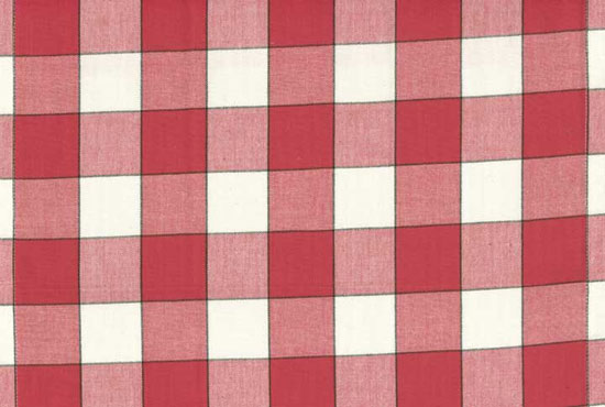 16 Toweling Red Buffalo Check