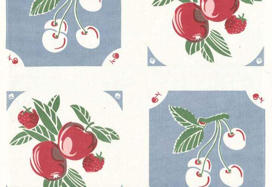 16 Toweling Blue Granny Fruit 920-118