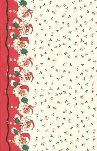 920 136 16 Toweling Santa