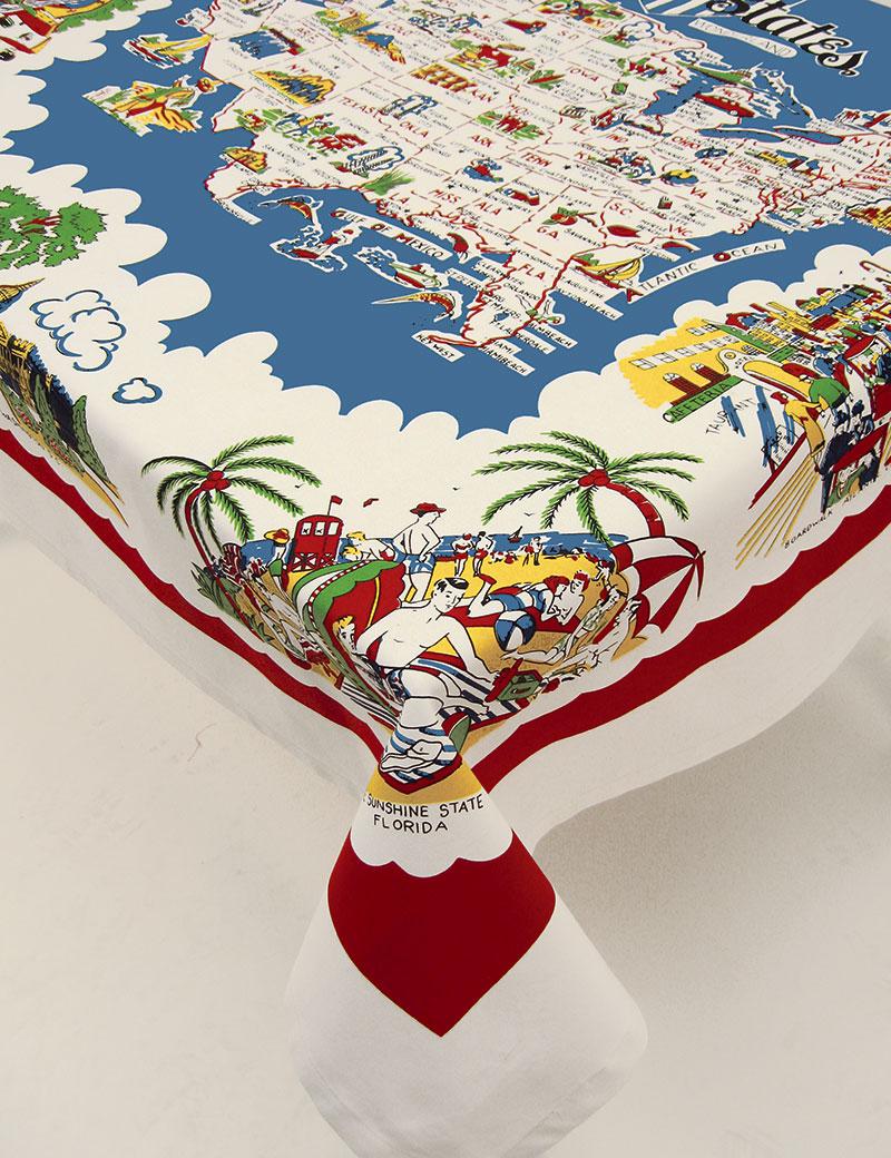 Tablecloth 52 American Wonder