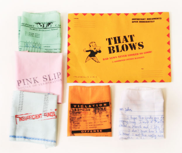 Hankie Set That Blows