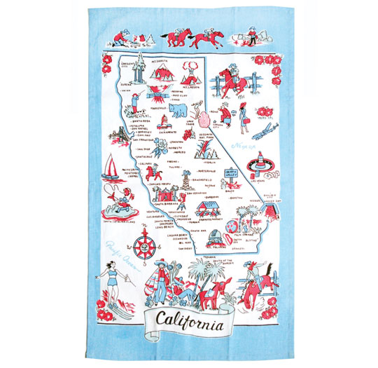 Towel California