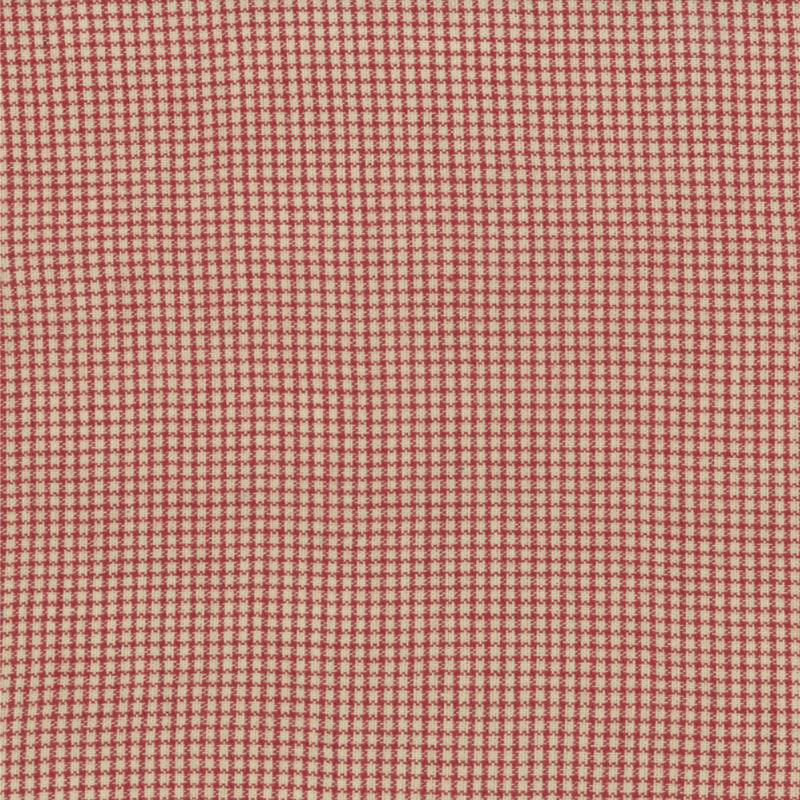 Midwinter Reds Red Cream Tiny Check 12214 12