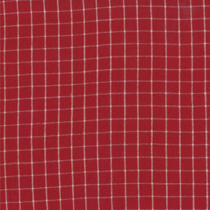Midwinter Reds Red Woven Check 12214 16