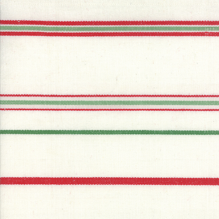 16 Toweling White Red Green
