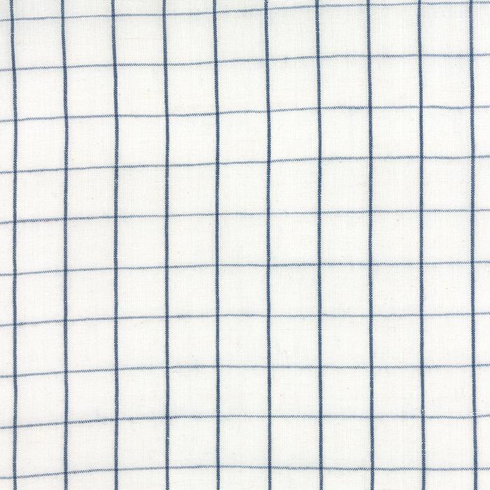 16' LINEN CLOSET TOWELING WHITE/BLUE