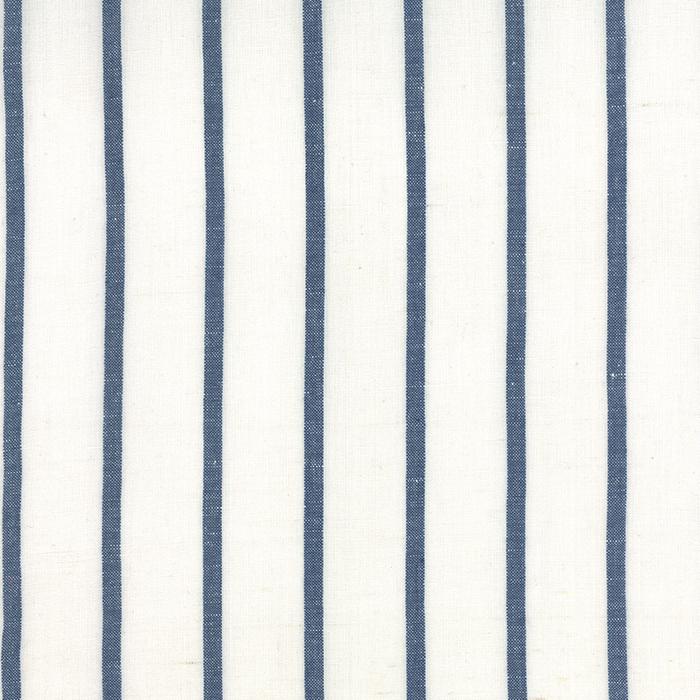 Linen Closet Fabric White Blue