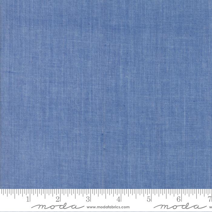 Chambray - Medium Blue