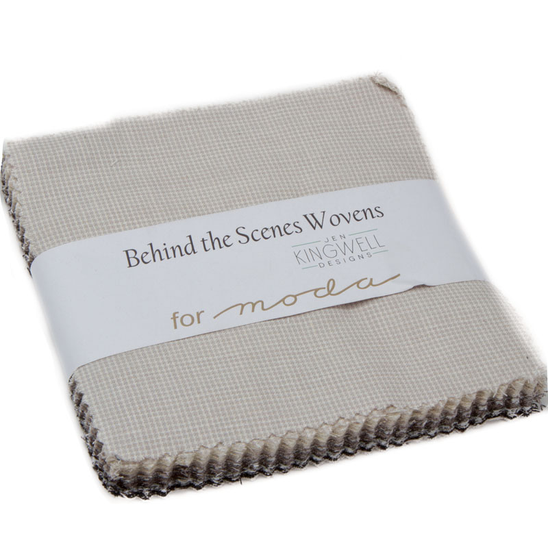 Behind The Scenes Woven Charm Pack
