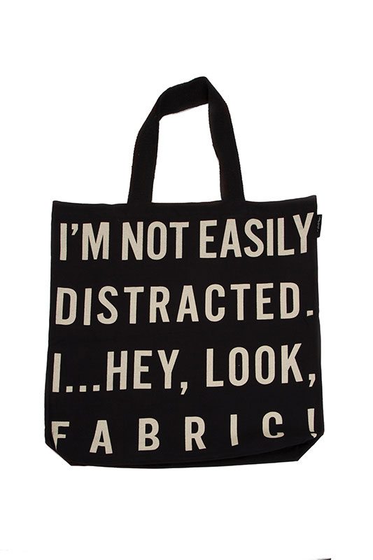 I'm Not Easliy Distracted Tote