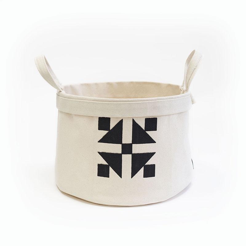 964 16 Canvas Basket Medium