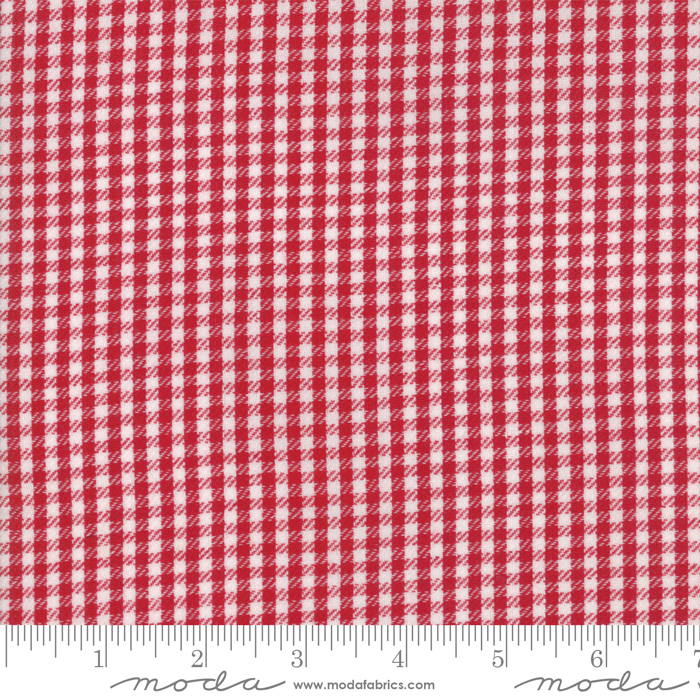 Oxford Twill Check Red