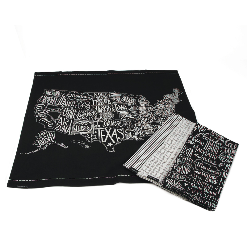 Metropolis Towels Set of 4