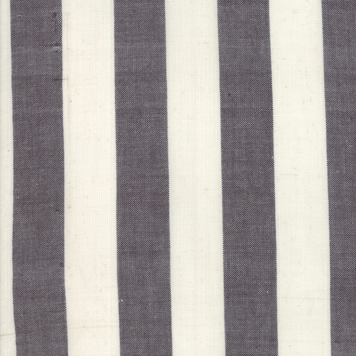 Urban Cottage Wovens Bold Stripe Natural Black