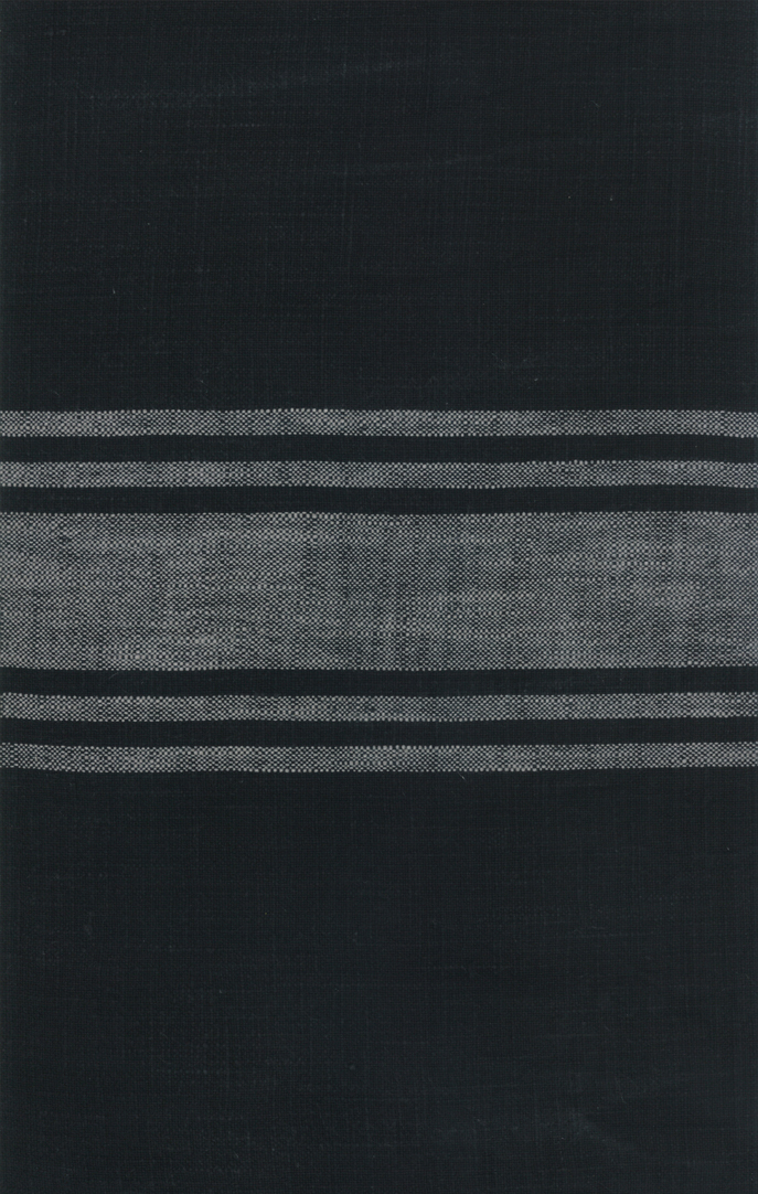 16 Urban Cottage Toweling Black Grey