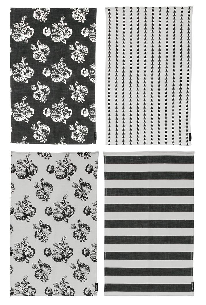 Urban Cottage Towels Set of 4